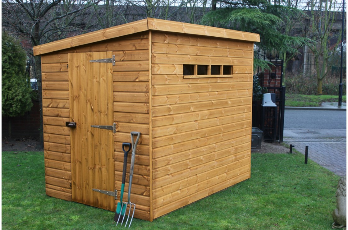 Security pent for Garden shed security